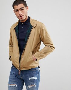 Read more about Polo ralph lauren cotton harrington jacket player embroidery in tan - luxury tan