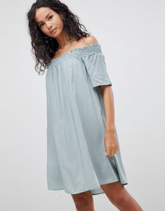 Read more about Glamorous off shoulder dress - dusty green