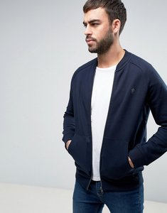 Read more about French connection zip through bomber jacket - navy