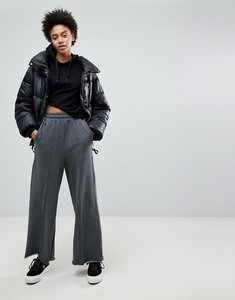 Read more about Stradivarius wide leg track pant - grey