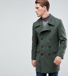 Read more about Heart dagger military overcoat - khaki