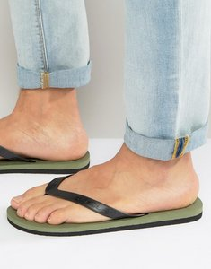 Read more about O neill friction flip flops - green