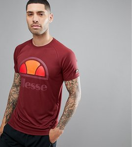 Read more about Ellesse sport t-shirt with logo in red - red