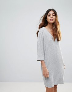 Read more about French connection sudan luella shift dress - light grey mel