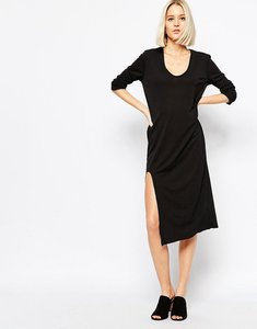 Read more about Weekday dress with front slit detail