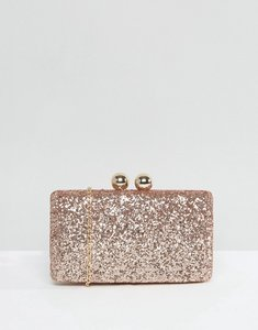 Read more about Chi chi london glitter clutch bag - champange