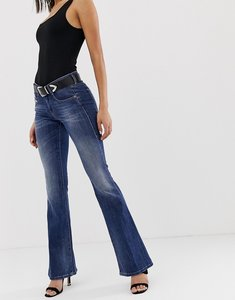 Read more about Diesel mid rise flare jean