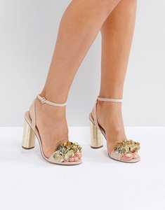 Read more about Office honour embellished sandals - pink