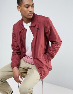 Read more about Nike sb coach jacket in burgundy 829509-619 - red