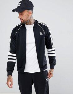 Read more about Adidas originals authentic superstar track jacket in black dj2856 - black