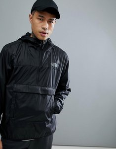 Read more about The north face fanorak overhead jacket hooded packable in black - black