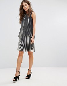 Read more about Y a s amelia pleat skirt co-ord - multi