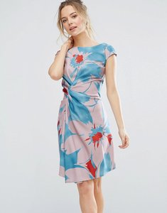 Read more about Closet london bold floral shift dress - multi