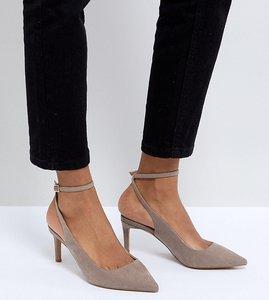 Read more about Asos sabrina mid heels - taupe