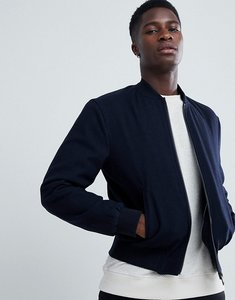 Read more about Esprit wool bomber jacket - navy 400