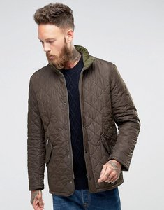 Read more about Barbour chelsea sports quilted jacket in olive - olive