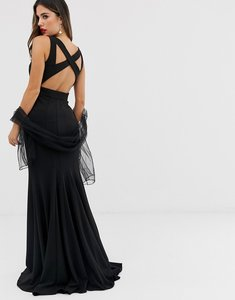 Read more about Jovani maxi dress with cut out detail