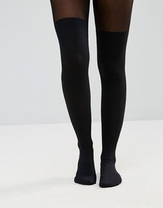 Read more about Hunkemoller 50 denier overknee sock tights - black