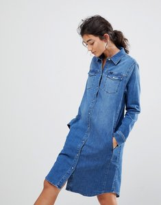 Read more about Lee western denim dress - bright mid