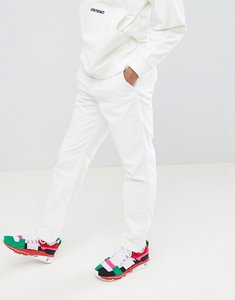 Read more about Asos x unknown london relaxed trousers in cord - white