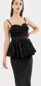 Read more about Asos design tall premium midi bodycon dress with pephem