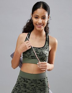 Read more about Only play performance camo sports bra - multi