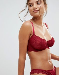 9bd1d0967d2b50 asos fuller bust valentina corded lace underwire bra blush - Shop ...