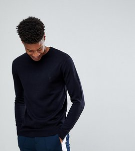 Read more about French connection tall crew neck jumper - navy