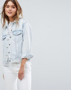 Read more about Levis ex boyfriend trucker jacket - static sound