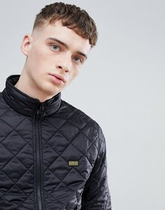 Read more about Barbour international gear quilted jacket in black - black