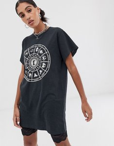 Read more about Noisy may oversized zodiac t-shirt