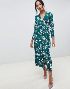 Read more about Asos design button through maxi dress in floral print
