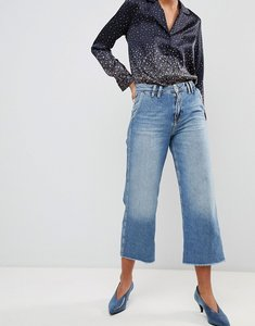 Read more about Pepe jeans patsy cropped flared jeans - light blue