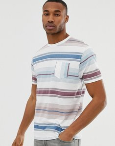 3fdb8daa4c Read more about Asos design relaxed organic cotton t-shirt with retro stripe  and vertical