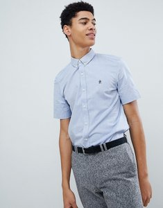 Read more about French connection oxford short sleeve shirt - sky