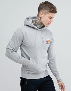 Read more about Ellesse hoodie with small logo - grey