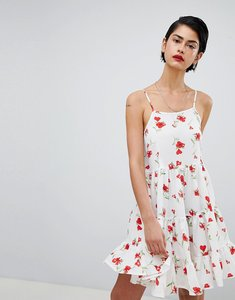 Read more about Missguided cami strap floral smock dress - multi