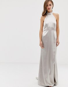 Read more about Asos edition halter maxi dress with fishtail