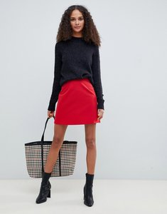 Read more about Asos design tailored a-line mini skirt