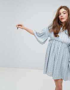 Read more about Willow and paige relaxed smock dress in summer print - multi