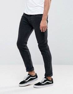 Read more about Levis 501 skinny side by side wash dark grey - side by side