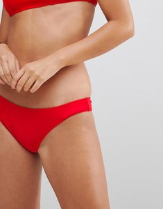 Read more about Le palm minimal mix and match solid bikini bottoms - sold red