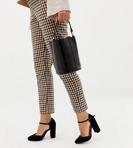 Read more about Asos design pocket wide fit heels - black