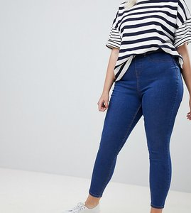 Read more about New look curve skinny jegging - mid blue