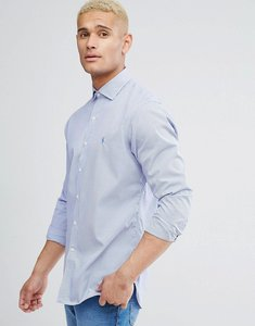 Read more about Polo ralph lauren micro gingham shirt slim fit in blue - dusk blue white