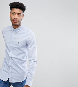 Read more about French connection tall oxford shirt - blue