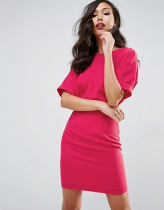 Read more about Asos mini wiggle dress - raspberry