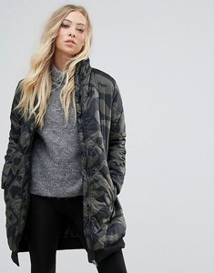 Read more about B young printed long jacket - multi