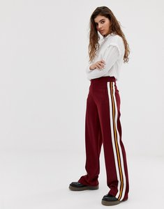 Read more about Wild honey smart wide leg trousers with side stripe