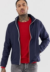Read more about Tommy hilfiger red white zip through jacket